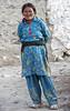 Woman in blue (bag_lady) Tags: ladakh pangonglake spangmik ladakhiwoman nomadic changpas changthangvalley