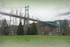 St. Johns Bridge (Portland, Oregon) (PDX Bailey) Tags: tree photoshop olympus river willamette oregon portland northwest pacific pnw johns saint st unusual weird altered artistic art