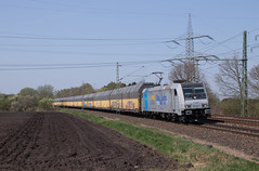 "185 673 ""RTB Cargo"" mit ARS Altmann - 20.04.2018 - Langwedel (D) (Frederik L.) Tags: db bahn zug eisenbahn privatbahn lok lokomotive rtb ars altmann baureihe 185 bahnhof güterzug"