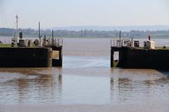 Lydney Harbour (StuDot66) Tags: river severn high tide estuary lydney harbour gloucestershire