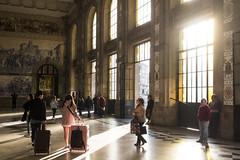Estação de São Bento (visitporto) Tags: cultureheritagearchitecture visitporto trainstation people