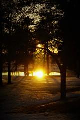 Wawa Sunset (Wawa Duane) Tags: wawa ontario canada melting snow spring