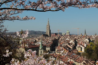 Altstadt - Stadt Bern im Kanton Bern der Schweiz