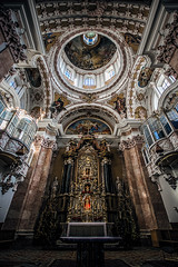 When it returns (Melissa Maples) Tags: innsbruck österreich austria europe nikon d3300 ニコン 尼康 sigma hsm 1020mm f456 1020mmf456 winter cathedral church domzustjakob domstjacob sanctuary holidays decorations christmastrees