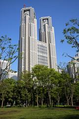 Tokyo Metropolitan Gov't Building (東京都庁舎) (globetrekimages) Tags: tokyo japan architecture building skyscraper