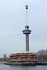 Rotterdam : l'Euromast (bernarddelefosse) Tags: euromast rotterdam paysbas tour