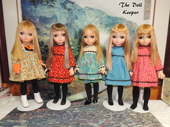 1965 Love Me Linda & Pretty As A Picture Dolls (The doll keeper) Tags: 1965 lovemelinda love me linda pretty as a picture dolls big eye vintage preblythe