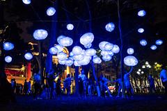 Floating stars! (thinhtv) Tags: celebration festival light night lantern city hanoi vietnam
