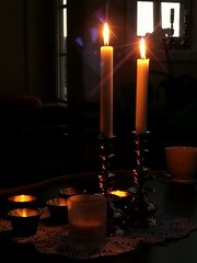 WeekendMemories (evakongshavn) Tags: light litbycandlelight candles candle candlelight yellow flame goodmemories memories friendship atmosphere mood moody