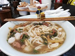 Travels of badger - Trying the Famous Pian Er Chuan Noodles in Hangzhou (enigmabadger) Tags: brickarms lego custom minifig minifigure fig accessory accessories travel china chinese vacation