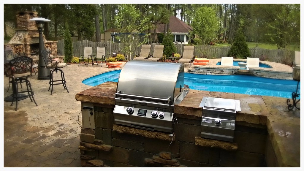 Custom Fire Magic Outdoor Kitchen, Chattanooga, Tn.