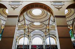 Bibliothèque Nationale Richelieu, Paris (Monceau) Tags: bibliothèquenationale richelieu paris arches ceiling circles domes lookingup interior architecture light