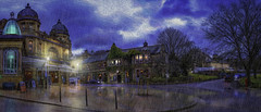 Buxton Opera House (Kev Walker ¦ 10 Million Views..Thank You) Tags: architecture building buxton canon1855mm canon700d derbyshire digitalart england hdr historic outdoor panorama panoramic peakdistrict picturesque postprocessing spatown rain reflections