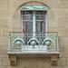 Balcon du Castel Béranger d'Hector Guimard à Paris