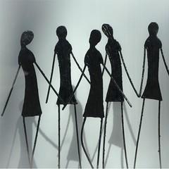 silhouettes (jemazzia) Tags: monochrome art silhouette figur gestalt silueta figura silhueta ombres
