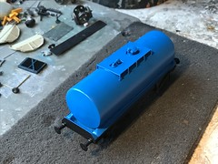 ECC blue Slurry TTA now ready for custom decals and etched ladder / brake gear to be added now (37686) Tags: ecc blue slurry tta now ready for custom decals etched ladder brake gear be added