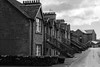 First Division (TroonTommy) Tags: 2018 deanston distillery doune river scotch scotland teith whisky mono bw clock terrace houses