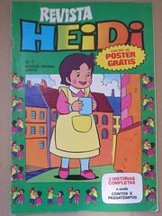 Revista Mensal Heidi, Nº 1 (ACMateus) Tags: antiguidades coleccionismo velharias revista