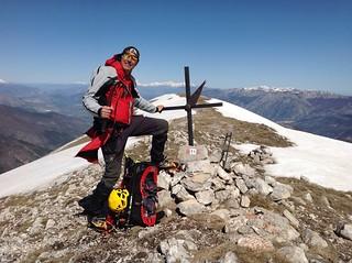 7/4/18 - Monte Rotella (2129 m) e Cima della Fossa (1990 m), Parco Nazionale della Majella, da Pescocostanzo (AQ)
