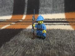 WW1 French soldier (daniilgulenkov) Tags: ww1 lego