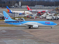 G-TAWF Boeing 737-800 of TUI Airways (SteveDHall) Tags: aircraft airport aviation airfield aerodrome aeroplane airplane airliner airliners boeing manchester manchesterairport ringway 2018 egcc man thomsonairways thomson tui tuiairways gtawf boeing737800 737 738 boeing737 b738 b737800
