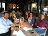Farewell lunch with team at Den Burgh in Hoofddorp (ching-yin) Tags: cy