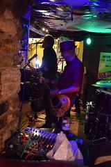 DSC_0142 (richardclarkephotos) Tags: tim bish joey luca © richard clarke photos derellas three horseshoes bradford avon wiltshire uk lone sharks guitar bass drums guitarist drummer bassist band bands live music punk