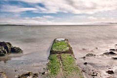 Exposed at Low Tide (Ron Rothbart) Tags: 10stopfilter albany albanybayfronttrail albanybeach california flemingpoint nd sanfranciscobay longexposure neutraldensityfilter water