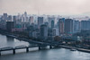 Pyongyang from the Juche Tower (soysimonholmes) Tags: north korea pyongyang