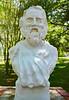 Bust of Longfellow - Evangeline Oak Park - St. Martinville, Louisiana (Monceau) Tags: stmartinville louisiana henrywadsworthlongfellow bust sculpture head evangelineoakpark