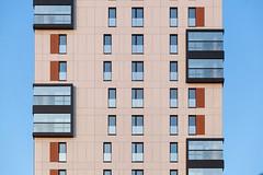 Западный фасад (Девелоперская компания) Tags: россия екатеринбург жилойдомкандинский архитектура линии стекло фасад брусника