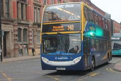 Magic Bus - MX08 GSV (BigbusDutz) Tags: stagecoach magic bus alexander dennis enviro 400 mx08 gsv