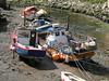 Buoyed Up! (Glass Horse 2017) Tags: nyorks staithes lowtide fishingboat ropes buoys buoyedup tiedup river buoyant