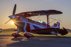 Pitts S2S G-EWIZ (Kev Gregory (General)) Tags: abingdon airfield kev gregory aviation night evening photography pitts s2s gewiz
