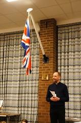 Flagpole Dedication (tim ellis) Tags: flagpole 7thsuttoncoldfield scouts stpetersmaney churchhall spook suttoncoldfield uk