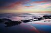Reflections At Sunset Cliffs (scottdavenportphoto) Tags: california calm emotion inspiration landscape mar nature northamerica ocean outdoor peaceful reflection sandiego sea seascape serene sunset sunsetcliffs tranquil unitedstates water zen