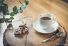 Coffee and chocolate (WillemijnB) Tags: coffee chocolate nuts trunk wooden spoon eucalyptus