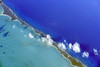 Aerial view of Great Guana Cay, The Bahamas (cocoi_m) Tags: aerialphotograph cay island aerial blue greatguanacay thebahamas nature atlanticocean geology geomorphology reef water abstract