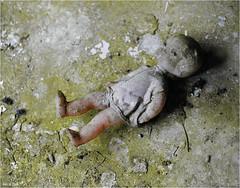 In a Pripyat Children's Nursery (Aad P.) Tags: chernobyl чорнобиль pripyat припять ukraine україна sovietunion cccp nuclearpowerplant radioactivity radiation urbex urbexphotography exclusionzone children childrensnursery toy puppet