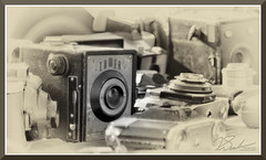 CoolStuff_9203d (bjarne.winkler) Tags: black white art photo gear action camera swap meet roseville