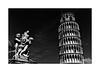 La tour de Pise (Jean-Louis DUMAS) Tags: pise tour architecture architecte architect bw black building noiretblanc noir noretblanc statue art artistic artiste artistique