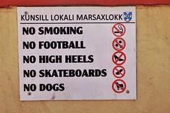 Ban List (Douguerreotype) Tags: malta sign