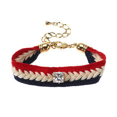 JASSY® Trendy Zircon Embroidery Jewelry Set Necklace Bracelet Red White and Blue Gift for Women (1208673) #Banggood (SuperDeals.BG) Tags: superdeals banggood jewelry watch jassy® trendy zircon embroidery set necklace bracelet red white blue gift for women 1208673