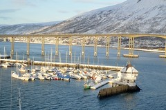 DSC_3196 (stephenholden46) Tags: tromso norway snow winter harbour arcticcircle