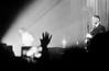 Hurts. (vtsphotography) Tags: 35mm film 35mmers pentax k1000 analogue analog bw blackandwhite hurts hurtsband concert musician man ilford 2017 desiretour autumn november russia krasnodar singer guitarist photography