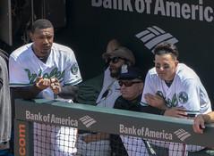 Adam Jones, Manny Machado (Keith Allison) Tags: mlb baseball orioleparkatcamdenyards adamjones mannymachado baltimoreorioles