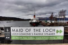 lomond shores (anna n rob) Tags: loch lomond lochlomond scotland uk scottish water boat maidoftheloch visitors tourists attraction paddlesteamer