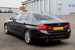 Police Scotland Brand New Unmarked BMW 530d Saloon Roads Policing Unit Traffic Car (PFB-999) Tags: police scotland scottish unmarked plain bmw 530d 5series saloon roads policing unit rpu traffic car vehicle grilles leds