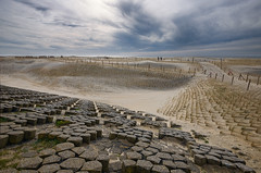 Petten (Julysha) Tags: petten dijk strand duinen sand dike evening april thenetherlands noordholland camperduin dutch people northsea d800e acr nikkor1635vr sky path