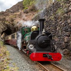 'Linda' at Aberglaslyn WHR (Explore) (babs pix) Tags: linda aberglaslyn welshhighlandrailway narrowgauge heritage steamrailway steamengine
